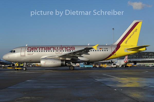 2012-12-07 D-AGWI Airbus A319 Germanwings