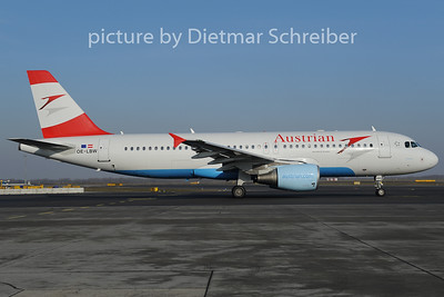 2012-12-13 OE-LBW Airbus A320 Austrian Airlines