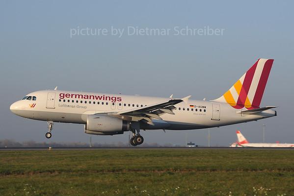 2013-11-14 D-AGWW Airbus A319 Germanwingss
