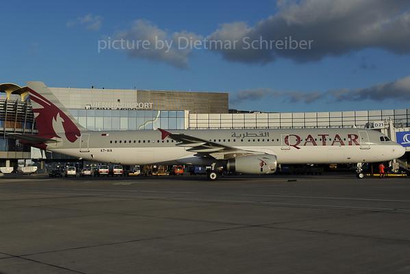 2013-12-02 A7-AIA Airbus A321 Qatar Airways
