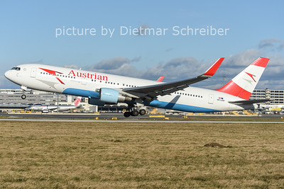 2014-12-26 OE-LAW Boeing 767-300 Austrian Airlines
