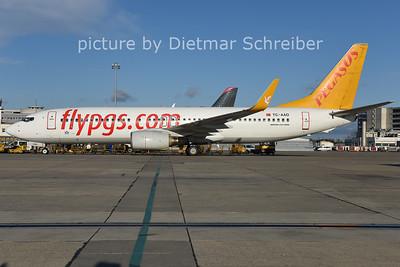 2014-12-26 TC-AAO Boeing 737-800 Pegasus