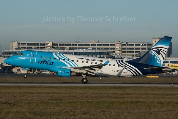 2015-12-26 SU-GCV Embraer 170 Egypt Air Express