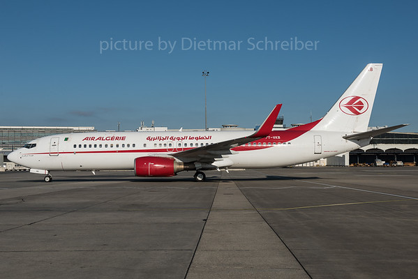 2015-12-30 7T-VKB Boeing 737-800 Air Algerie