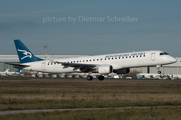 2015-12-30 4O-AOC Embraer 195 Montenegro Airlines