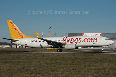 2015-12-30 TC-AAJ Boeing 737-800 Pegasus