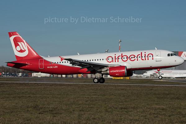 2015-12-30 OE-LEN AIrbus A320 Air Berlin / Flyniki