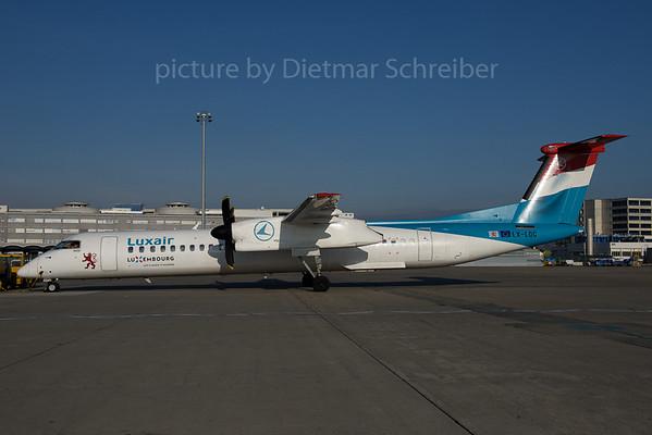 2016-12-16 LX-LQC Dash 8-400 Luxair