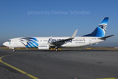 2017-12-25 SU-GEK Boeing 737-800 Egypt Air
