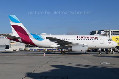 2017-12-25 OE-LYZ Airbus A319 Eurowings