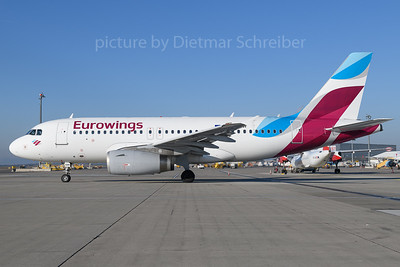 2017-12-25 D-AGWF Airbus A319 Eurowings