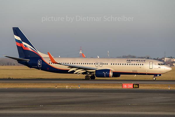2017-12-25 VP-BRR Boeing 737-800 Aeroflot