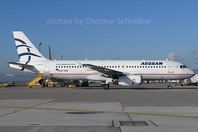 2017-12-25 SX-DGO Airbus A320 Aegean