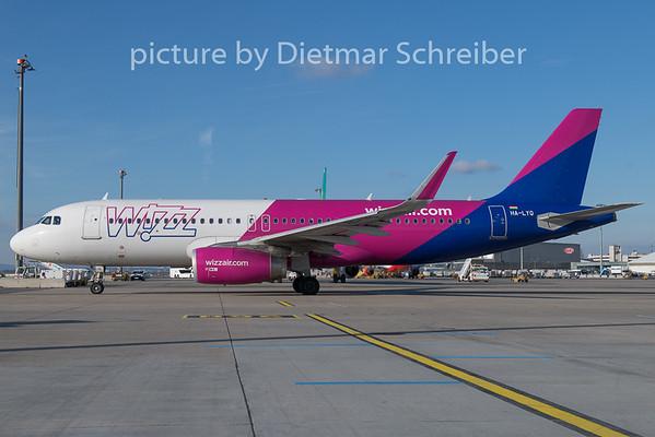 2018-12-26 HA-LYQ Airbus A320 Wizzair