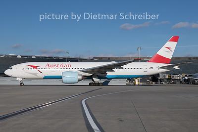 2018-12-26 OE-LPE Boeing 777-200 Austrian Airlines