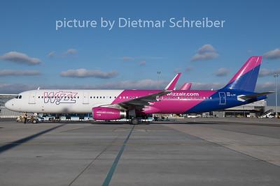 2018-12-26 HA-LTF Airbus A321 Wizzair