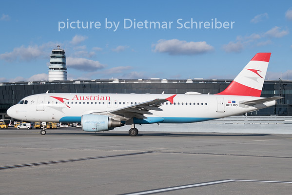 2018-12-26 OE-LBO Airbus A320 Austrian Airlines