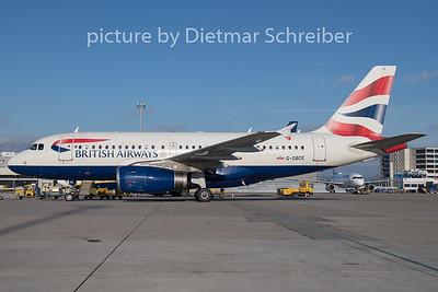 2018-12-26 G-DBCE Airbus A319 British Airways