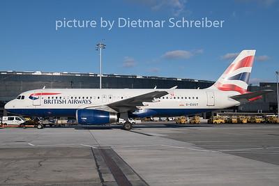 2018-12-26 G-EUUT Airbus A320 British Airways