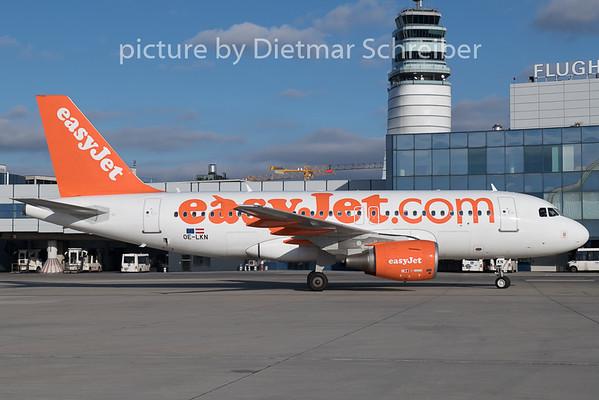 2018-12-26 OE-LKN Airbus A319 Easyjet Europe