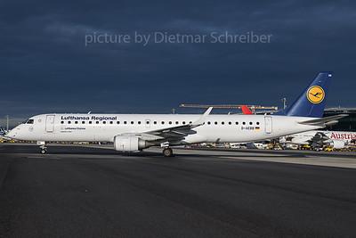 2019-11-14 D-AEBB Embraer 195 Lufthansa Regional
