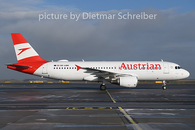 2019-12-07 OE-LBM Airbus A320 Austrian AIrlines