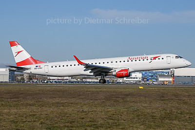 2019-11-14 OE-LWJ Embraer 195 Austrian Airlines