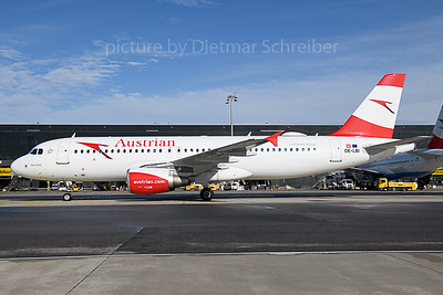 2019-11-04 OE-LBI AIrbus A320 Austrian Airlines