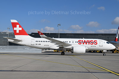 2019-11-01 HB-JBB Airbus A220-100 Swiss