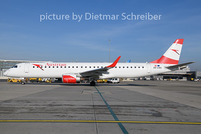 2019-12-04 OE-LWC Embraer 195 Austrian Airlines