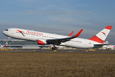 2019-12-30 OE-LAZ Boeing 767-300 Austrian Airlines