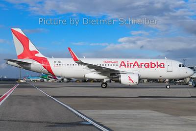 2019-12-25 A6-AOA Airbus A320 Air Arabia