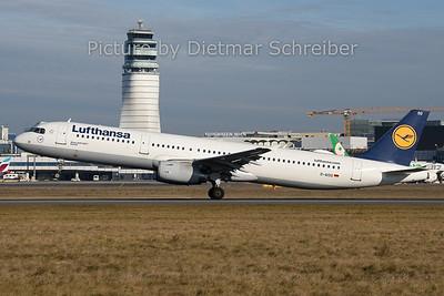 2019-12-30 D-AISO Airbus A321 Lufthansa