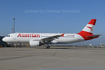 2019-11-01 OE-LZD Airbus A320 Austrian Airlines