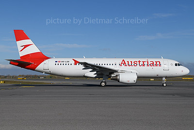 2019-11-14 OE-LZD Airbus A320 Austrian Airlines