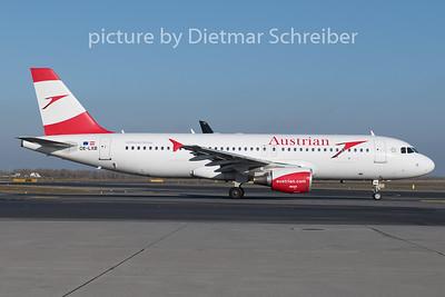 2019-12-20 OE-LXB Airbus A320 Austrian Airlines