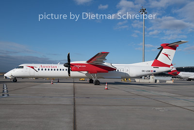 2019-12-27 OE-LGM Dash8-400 Austrian AIrlines