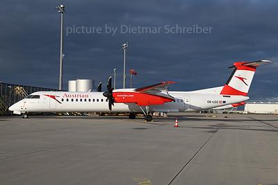 2019-11-14 OE-LGC Dash 8-400 Austrian Airlines