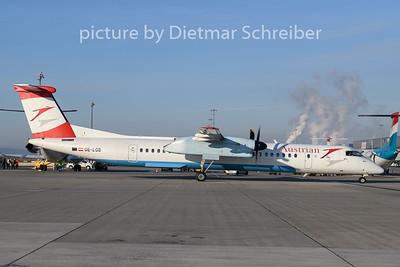 2019-12-30 OE-LGB Dash 8-400 AUstrian AIrlines