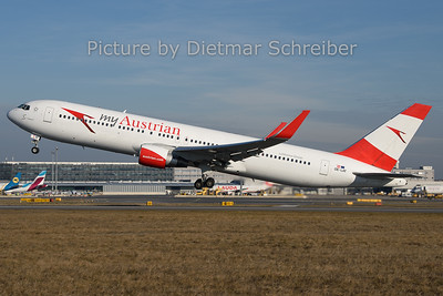 2019-12-30 OE-LAT Boeing 767-300 Austrian Airlines