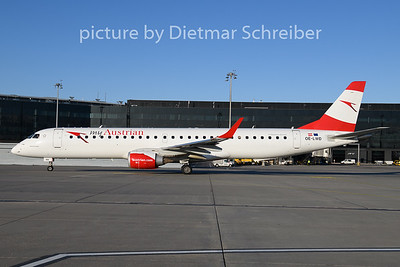 2019-11-07 OE-LWD Emberaer 195 Austrian Airlines
