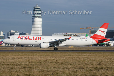2019-12-30 OE-LBD Airbus A321 Austrian Airlines