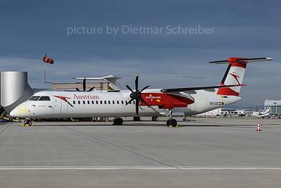 2019-11-19 OE-LGC Dash 8-400 Austrian Airlines