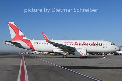 2019-12-11 A6-ANZ Airbus A320 Air Arabia