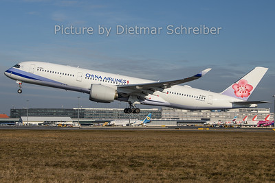 2019-12-30 B-18910  AIrbus A350-900 China AIrlines