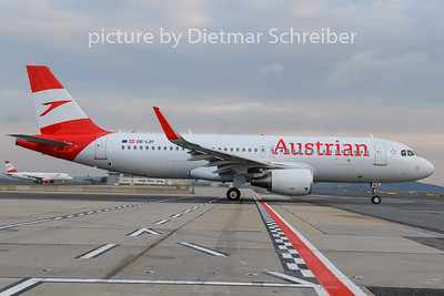 2019-12-02 OE-LZF Airbus A320 AUstrian Airlines