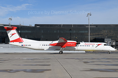2019-11-04 OE-LGN Dash 8-400 Austrian Airlines