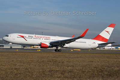 2019-12-30 OE-LAY Boeing 767-300 Austrian Airlines