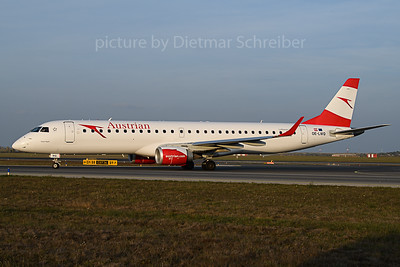 2019-11-01 OE-LWQ Embraer 195 Austrian Airlines