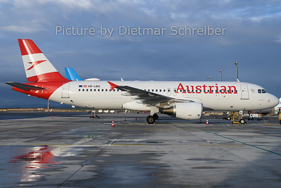 2019-12-25 OE-LBS Airbus A320 Austrian Airlines